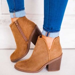 Shoes - SYNDIE Cut out Bootie